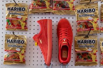 Puma x Haribo Goldbear Suede sneakers