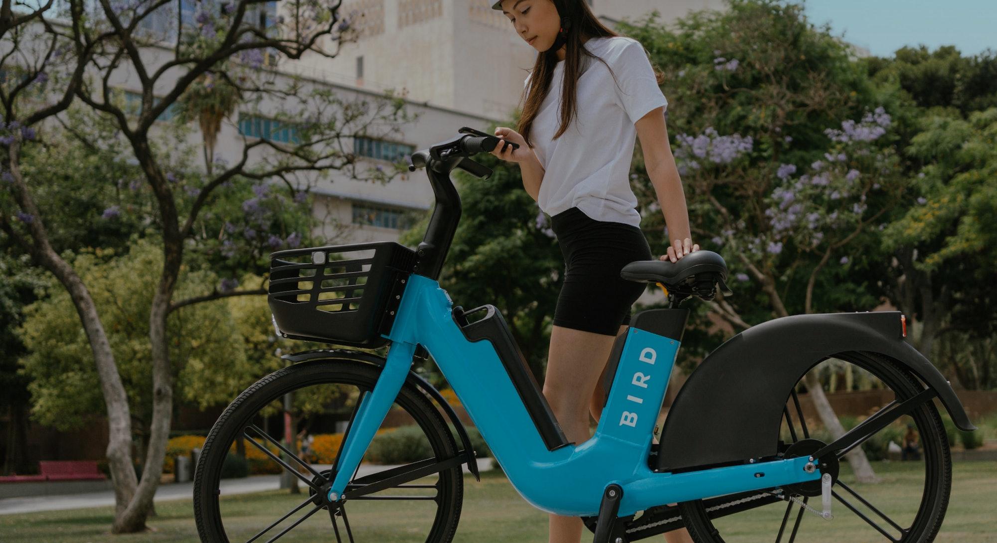 Bird has announced Bird Bike, its first shared electric bike.