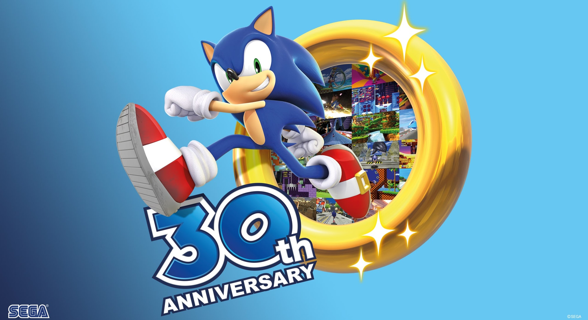 sonic the hedgehog 30th anniversary