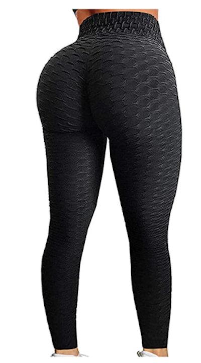 SEASUM Women's High Waist Yoga Pants  Workout Running Tights