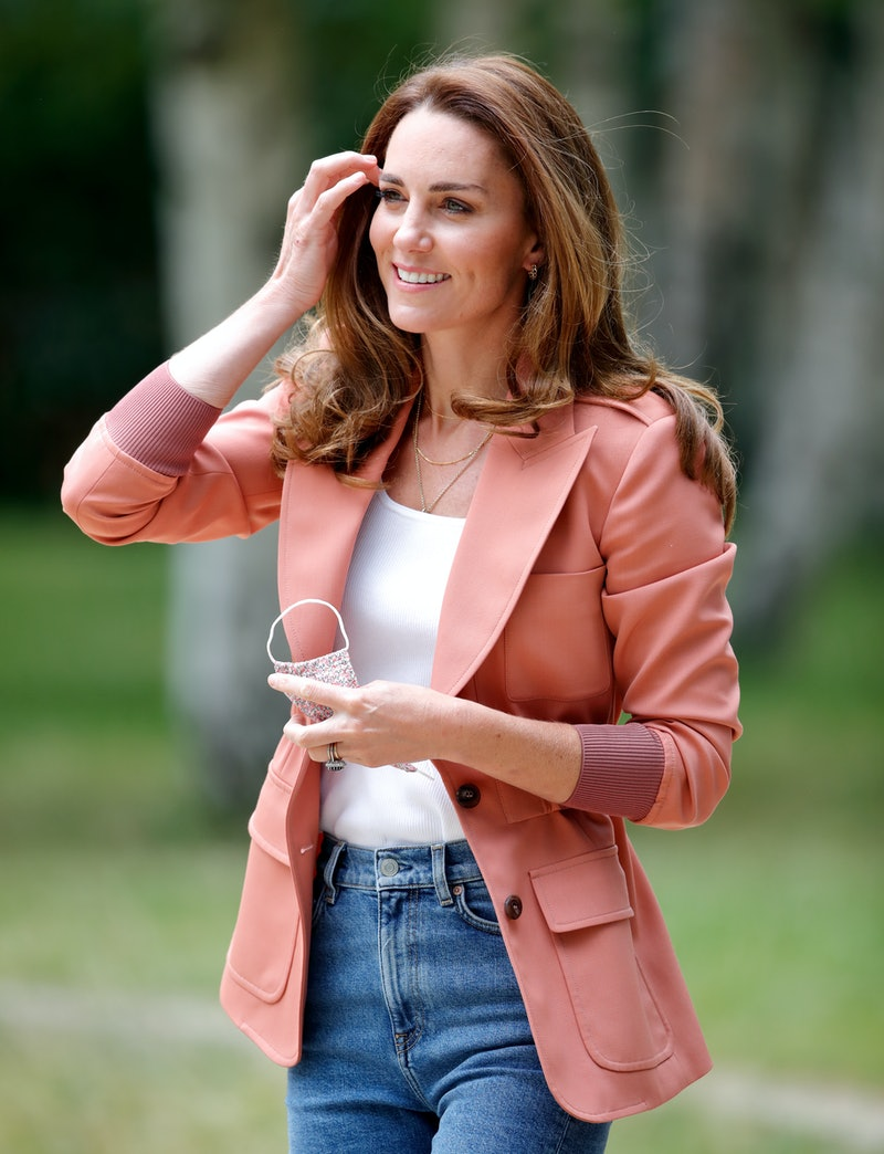 Catherine, Duchess of Cambridge visits the 'Urban Nature Project' at The Natural History Museum on June 22, 2021 in London, England.