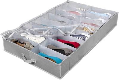 HOLDN' STORAGE Under-Bed Shoe Organizer
