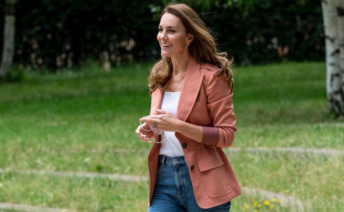 Kate Middleton Pink Jacket