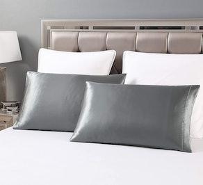Love's cabin Silk Satin Pillowcase