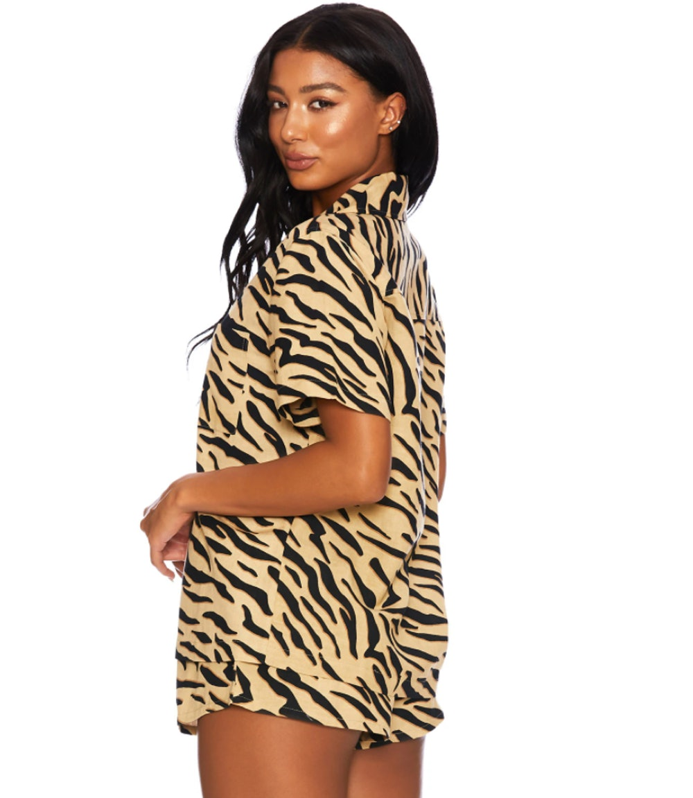 Claudia Short Chapman Zebra