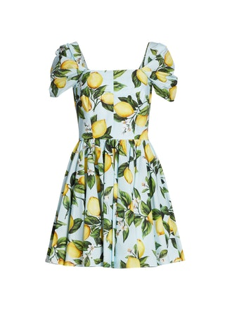 Dolce & Gabbana Limoni Tea Dress