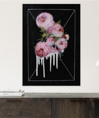 Dripping pink 17 Drawing