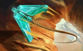Akshan grapple teaser image League of Legends