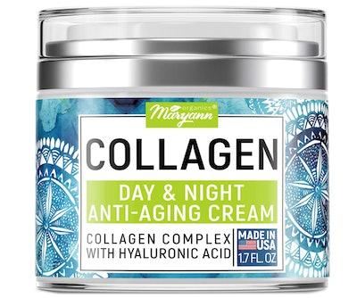 Maryann Organics Collagen Cream, 1.7 Oz.