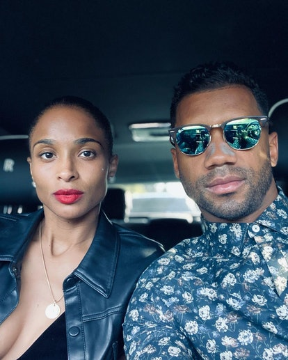 Ciara and Russell Wilson date night selfie