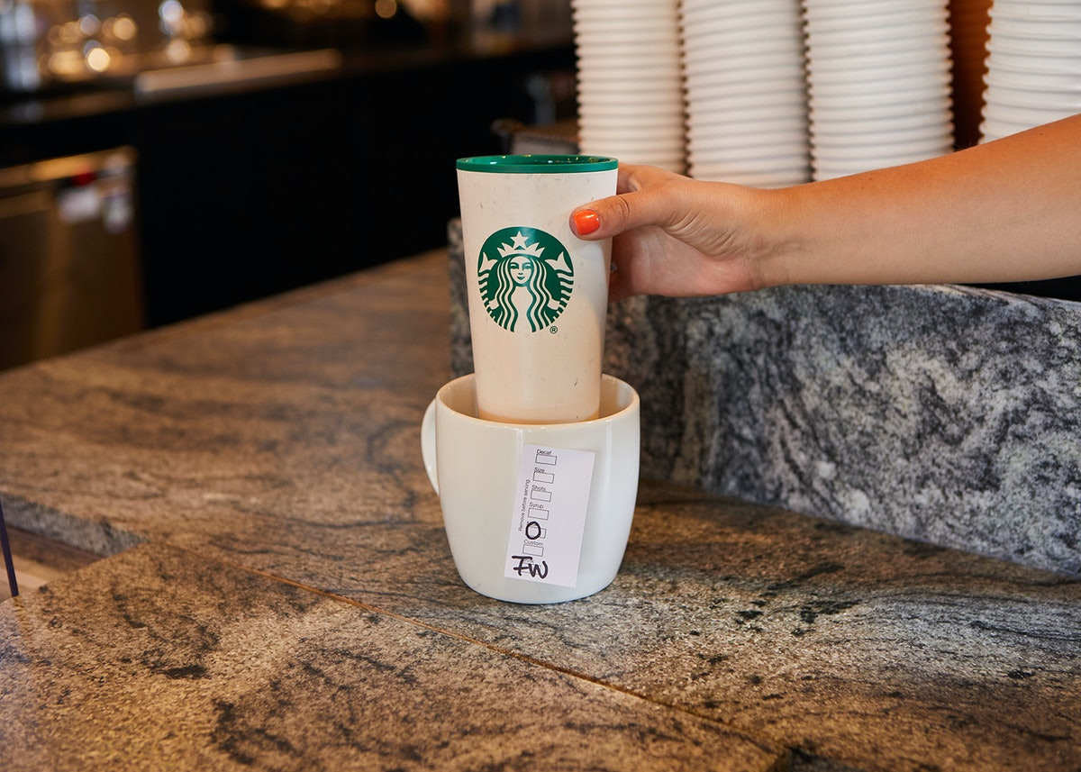 Starbucks' personal reusable cups policy for 2021 is a welcome return.