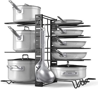 Deven Adjustable Pot and Pan Organizer