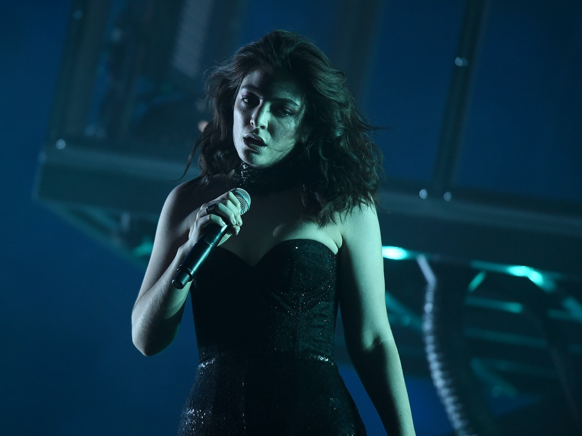 Lorde Solar Power Album Cover