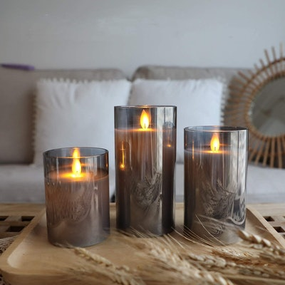 Yinuo Candle Flameless LED Candles (3-Pack)