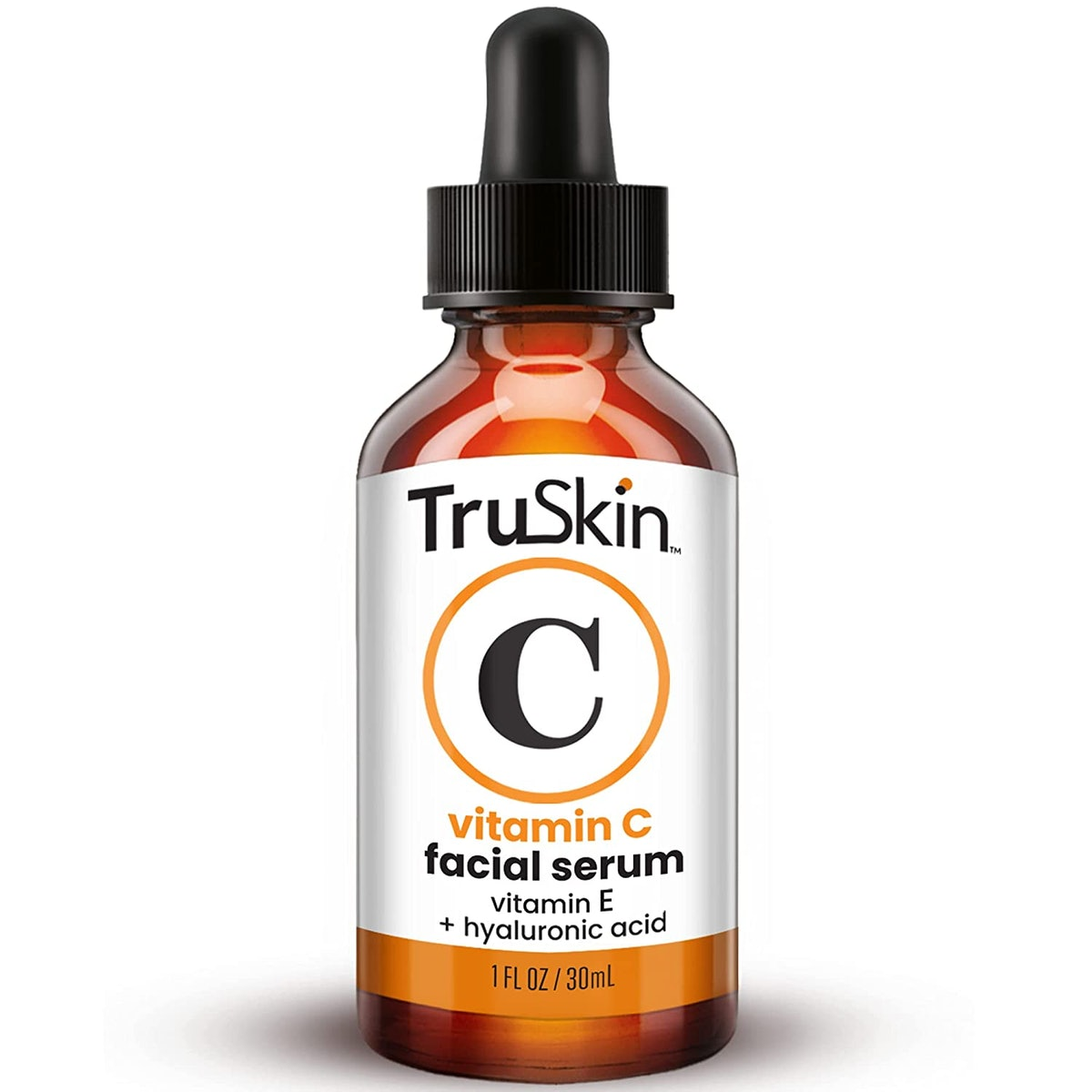 TruSkin Vitamin C Serum for Face with Hyaluronic Acid, Vitamin E, Witch Hazel
