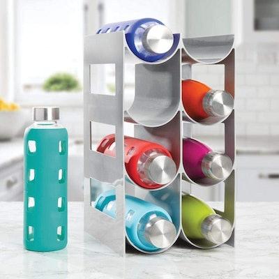 mDesign Bottle Rack