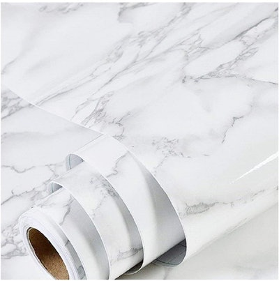 practicalWs Peel and Stick Marble Wallpaper
