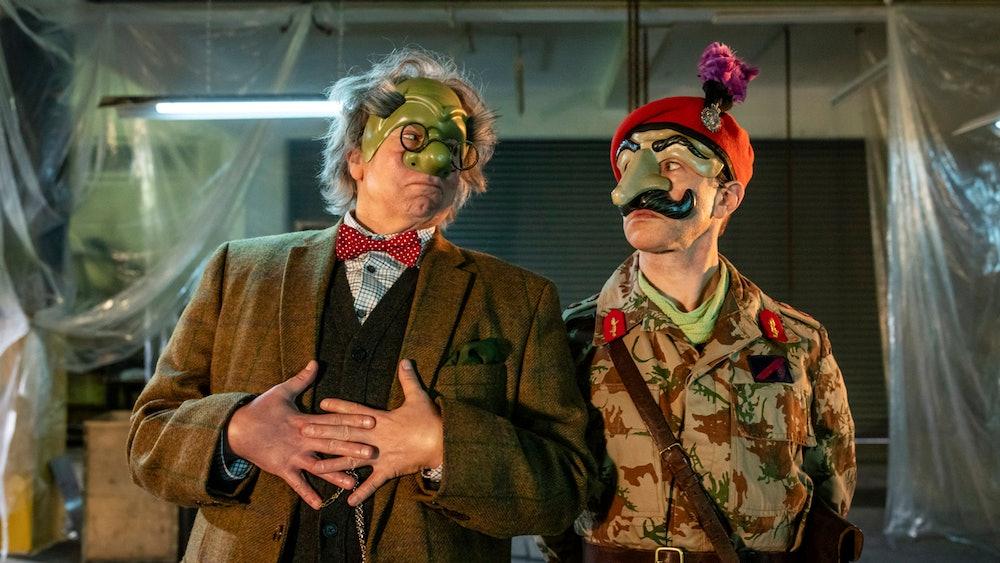 Inside No 9 interview Reece Shearsmith british sci-fi anthology series