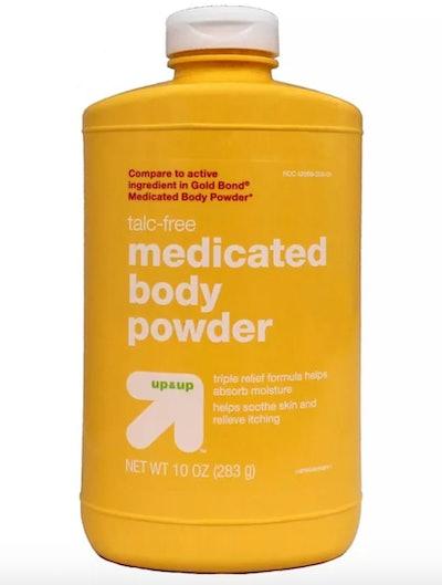 Up&Up Talc-Free Medicated Body Powder