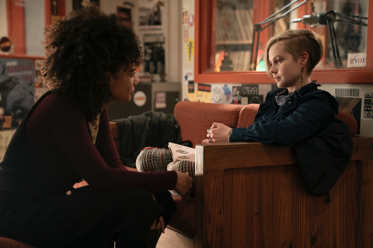 Kiah McKirnan and Angourie Rice in 'Mare of Easttown.'