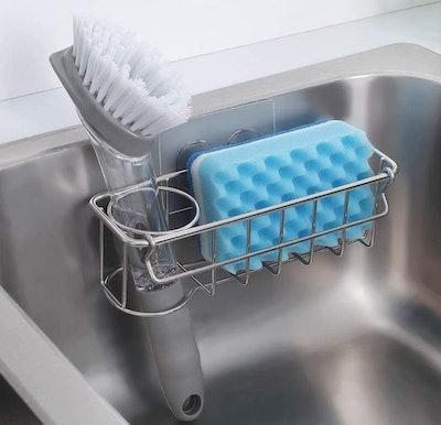 KESOL Adhesive 3-in-1 Sink Caddy