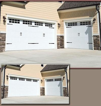 Household Essentials Magnetic Decorative Garage Door Accents