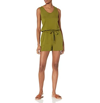 Daily Ritual Supersoft Terry Relaxed Fit Sleeveless Romper