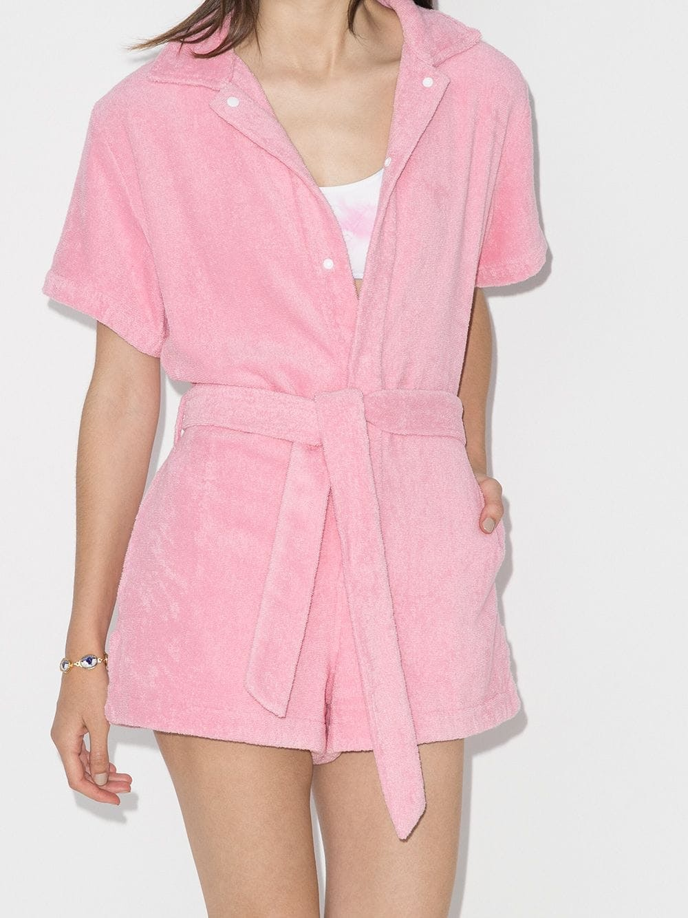 Cotton-Terry Playsuit