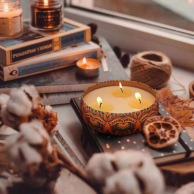 Calm Life 3-Wick Citronella Candle (3-Pack)