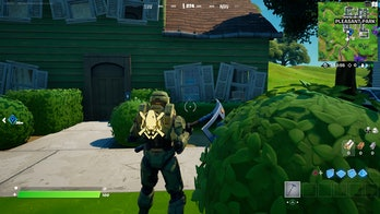 fortnite welcome sign location 2 gameplay