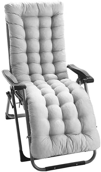 Patio Chaise Lounger Cushion