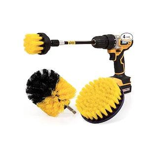 Holikme Drill Brush Power Scrubber (4-Pack)
