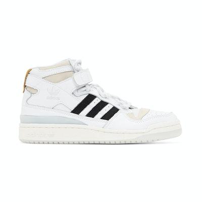 Adidas x Ivy Park White Forum Mid Sneaker