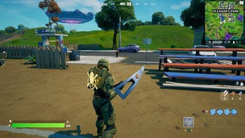 fortnite welcome sign location 1 gameplay