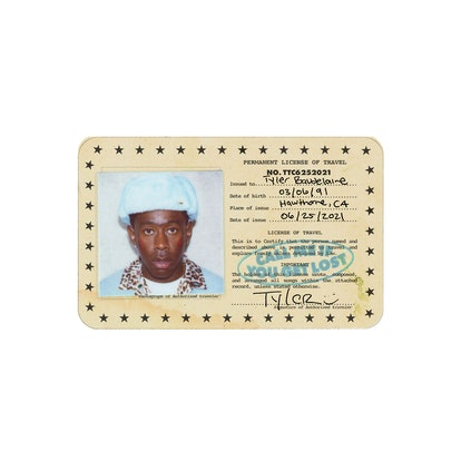 The artwork for Tyler, the Creator's album 'Call Me If You Get Lost.'