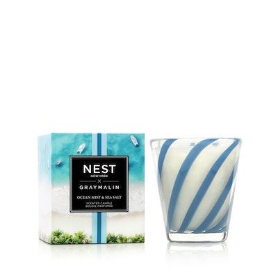 Ocean Mist & Sea Salt 3-Wick Candle