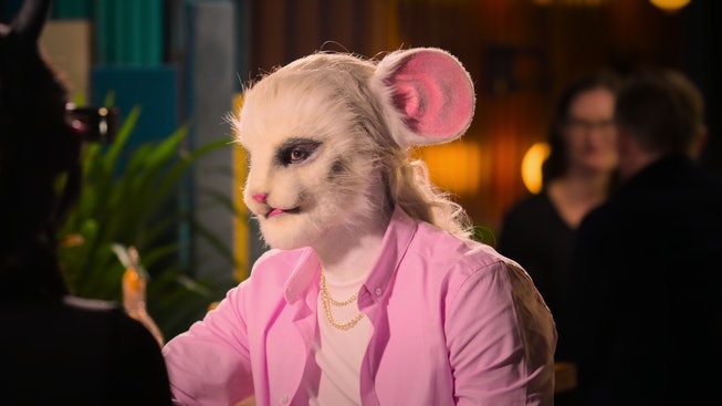 Netflix's new dating show 'Sexy Beasts' has contestants wear elaborate prosthetics on blind dates.