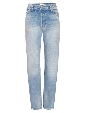Le Pixie Slouch Straight-Leg Jeans