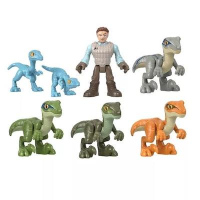 Fisher-Price Imaginext Jurassic World Raptor Trainer Owen Set