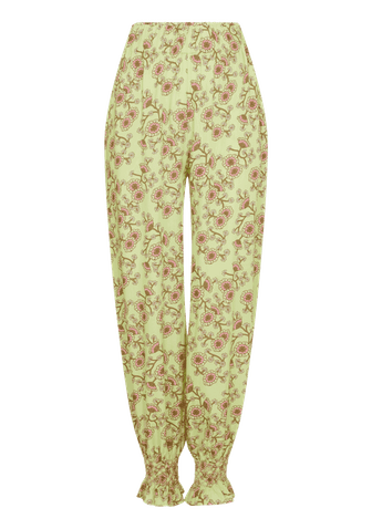 Elisabetta Smock Embroidered Trousers