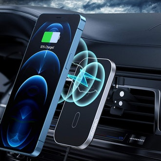 CHOETECH Magnetic Car Charger and Mount