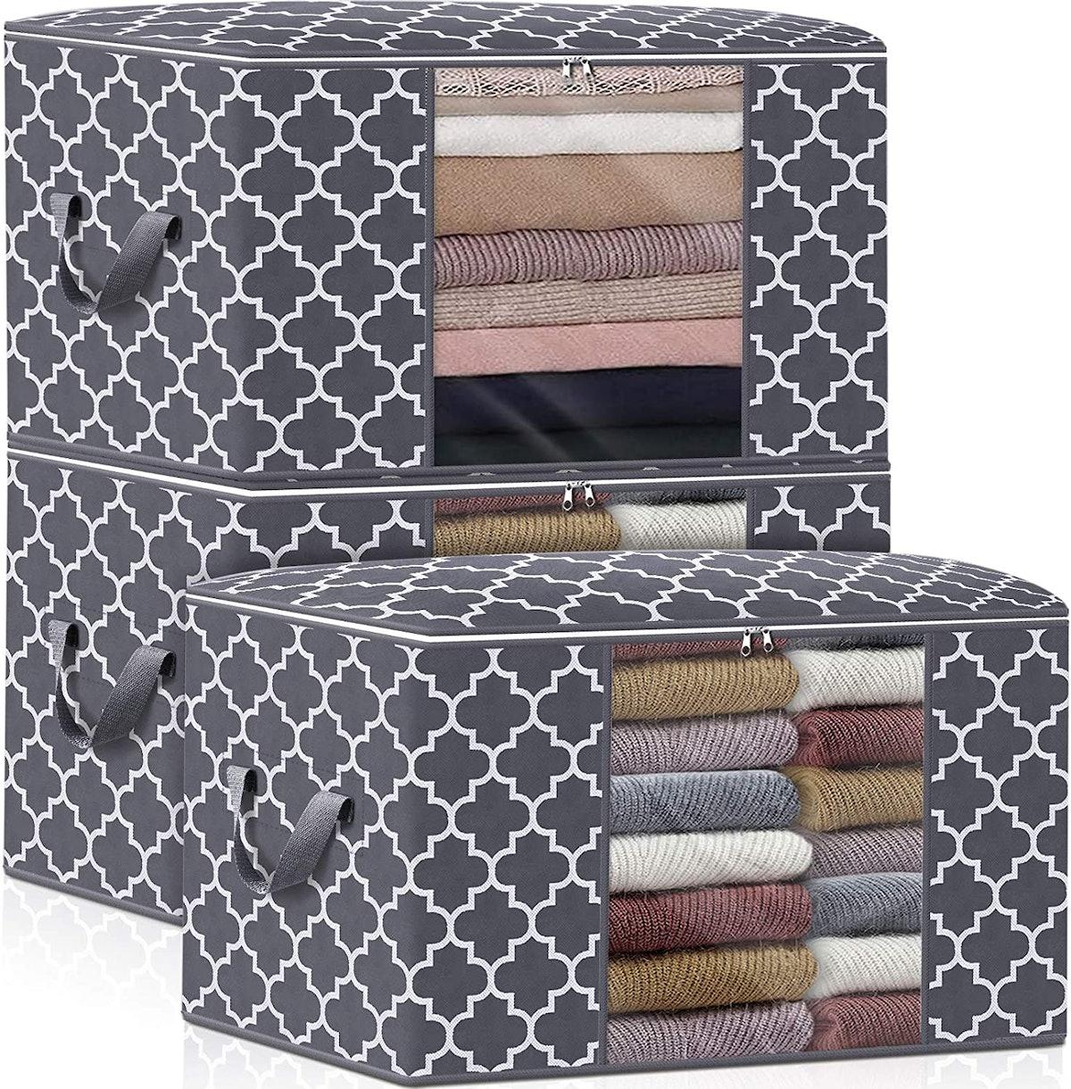 WISELIFE Storage Bags (3 Pack)