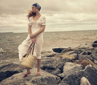 Ischia Dress in Salt