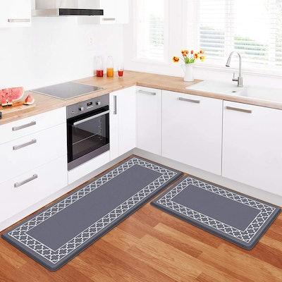 LuxStep Anti-Fatigue Kitchen Mat (2-Pack)