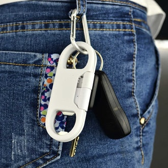 i-Dawn iPhone Charger Keychain & Bottle Opener
