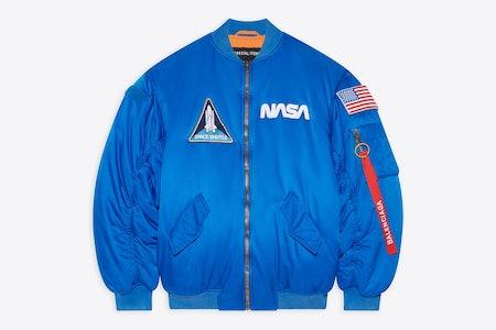Balenciaga NASA Space Bomber