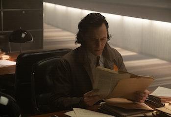 Tom Hiddleston in Loki Episode 2
