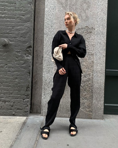 Birkenstock sandals are the normcore trend you've been waiting for, and your favorite celebrities — from Gigi Hadid to Tracee Ellis Ross — style them to perfection.