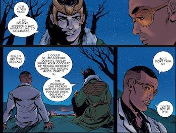 Loki bisexual sylvie marvel comics
