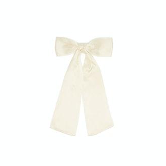 Sophie Buhai Bow Silk-Satin Hair Clip